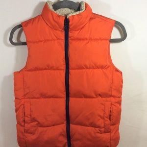 Crazy Eight 8 Puffer Vest Coat Jacket 7-8 Boys